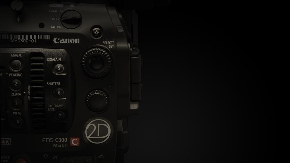 Canon C300 Mark II | 2D House Toronto Rentals
